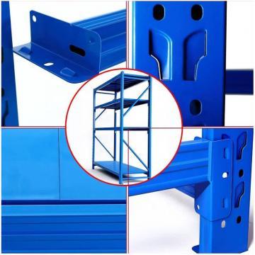 Commercial Garage Rolling Wire Rack Shelves 16 Bins Rack Steel Frame Shelving