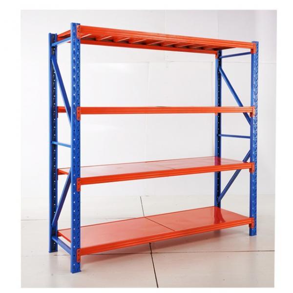 Various Size Freestanding Rivet Lock Boltless MDF Shelf Metal Storage Rack