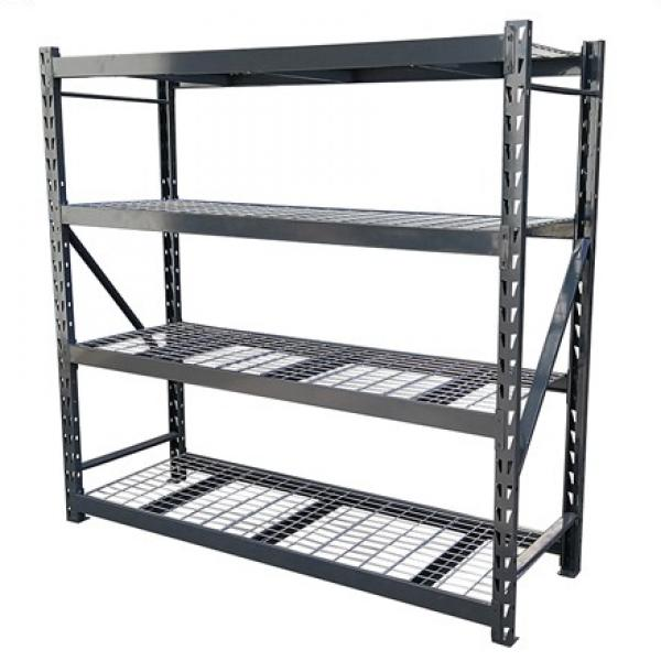 4 Tier Bookshelf Commerical Use Bookcase Modern Storage Rack Shelf Metal Display Stand